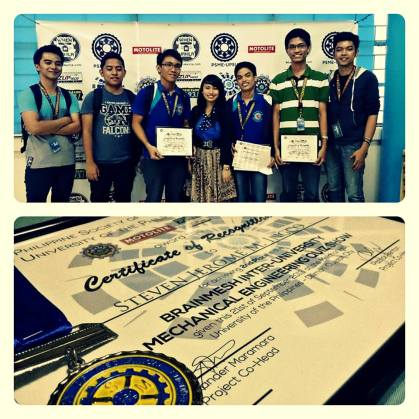I'M THE PROUDEST ATE HERE! MY BROTHER IS A GENIUS. :)
